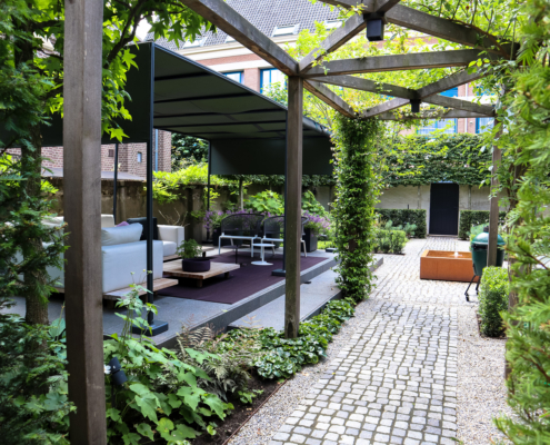 Toptuinen Hoveniers Lunteren | Ontwerp | Aanleg | Onderhoud